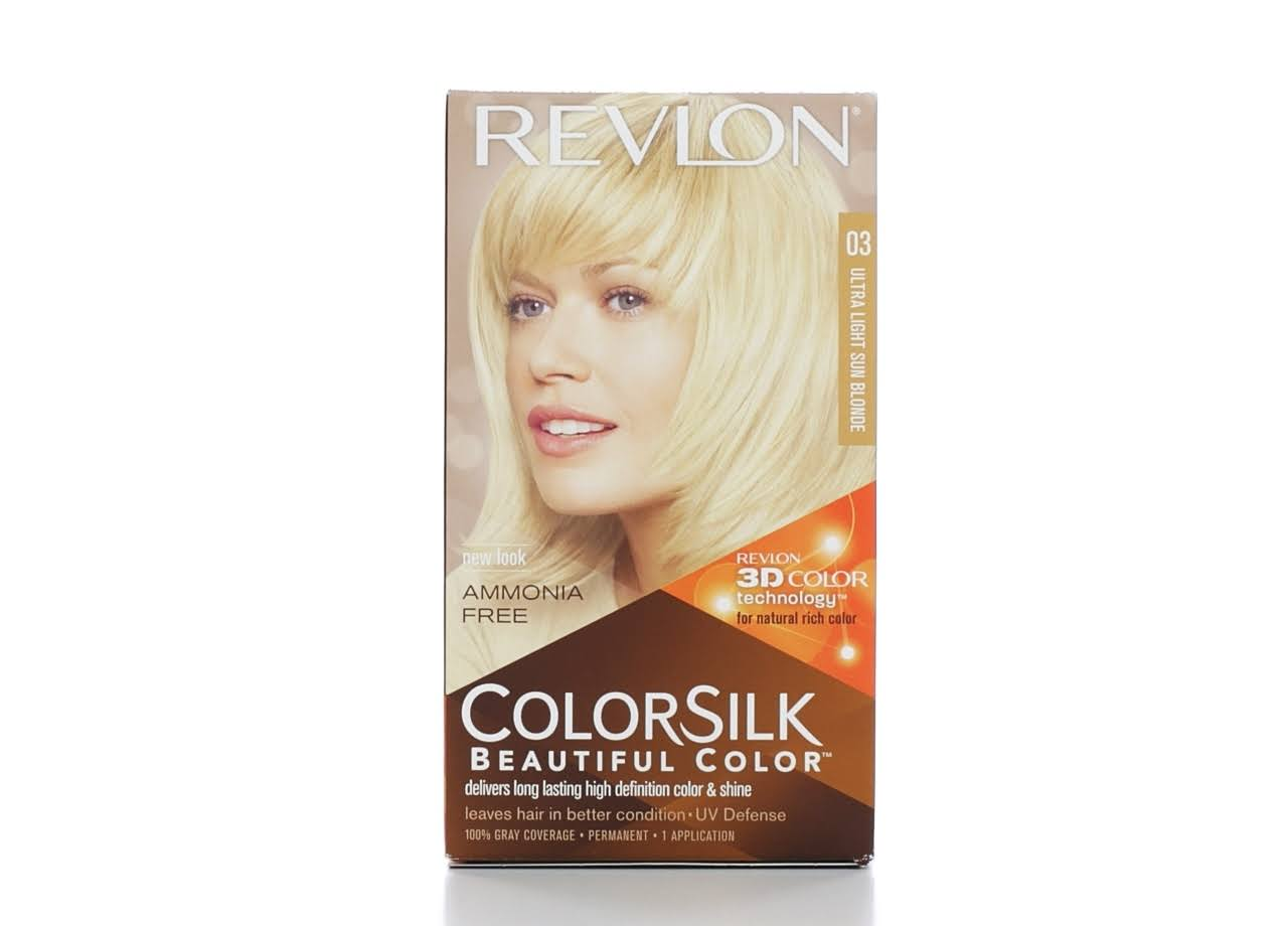 Revlon ColorSilk Beautiful Hair Color - Ultra Light Sun Blonde