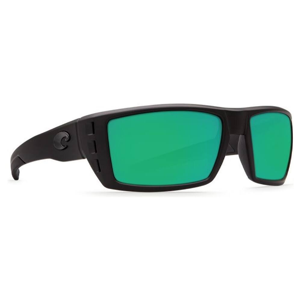 Costa Del Mar Rafael Blackout / Green 580G Sunglasses