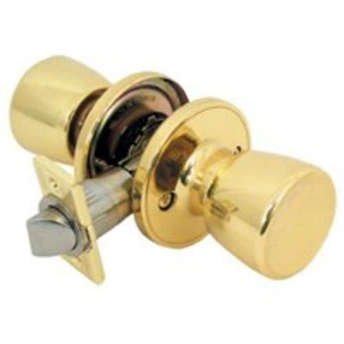 Mintcraft TS730V Tulip Passage Knob - Polished Brass