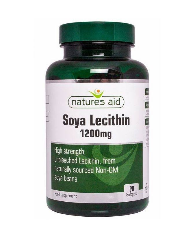Natures Aid Lecithin Supplement - 90 Softgels