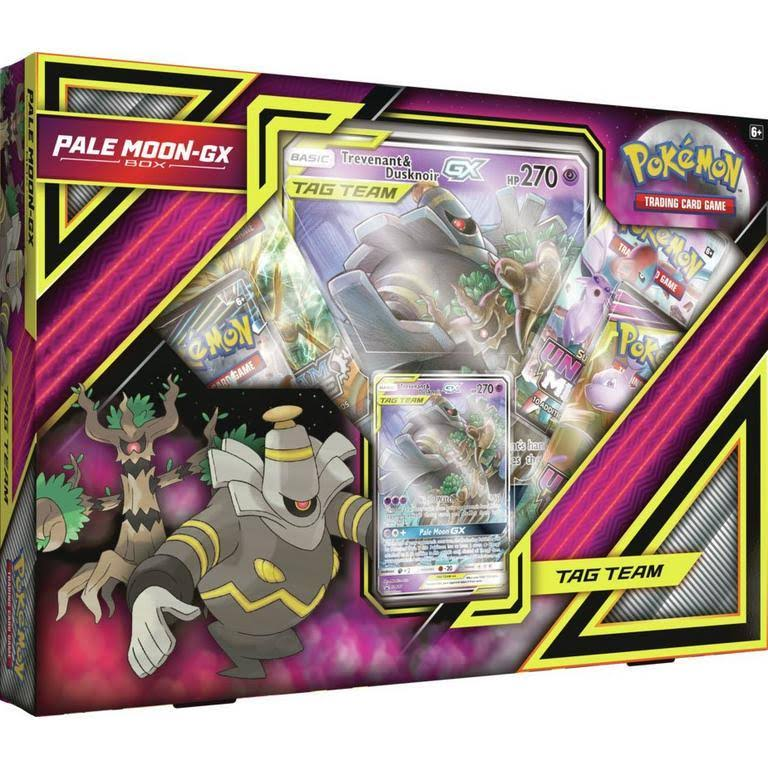 Pokemon Pale Moon-GX Box Trading Card Game
