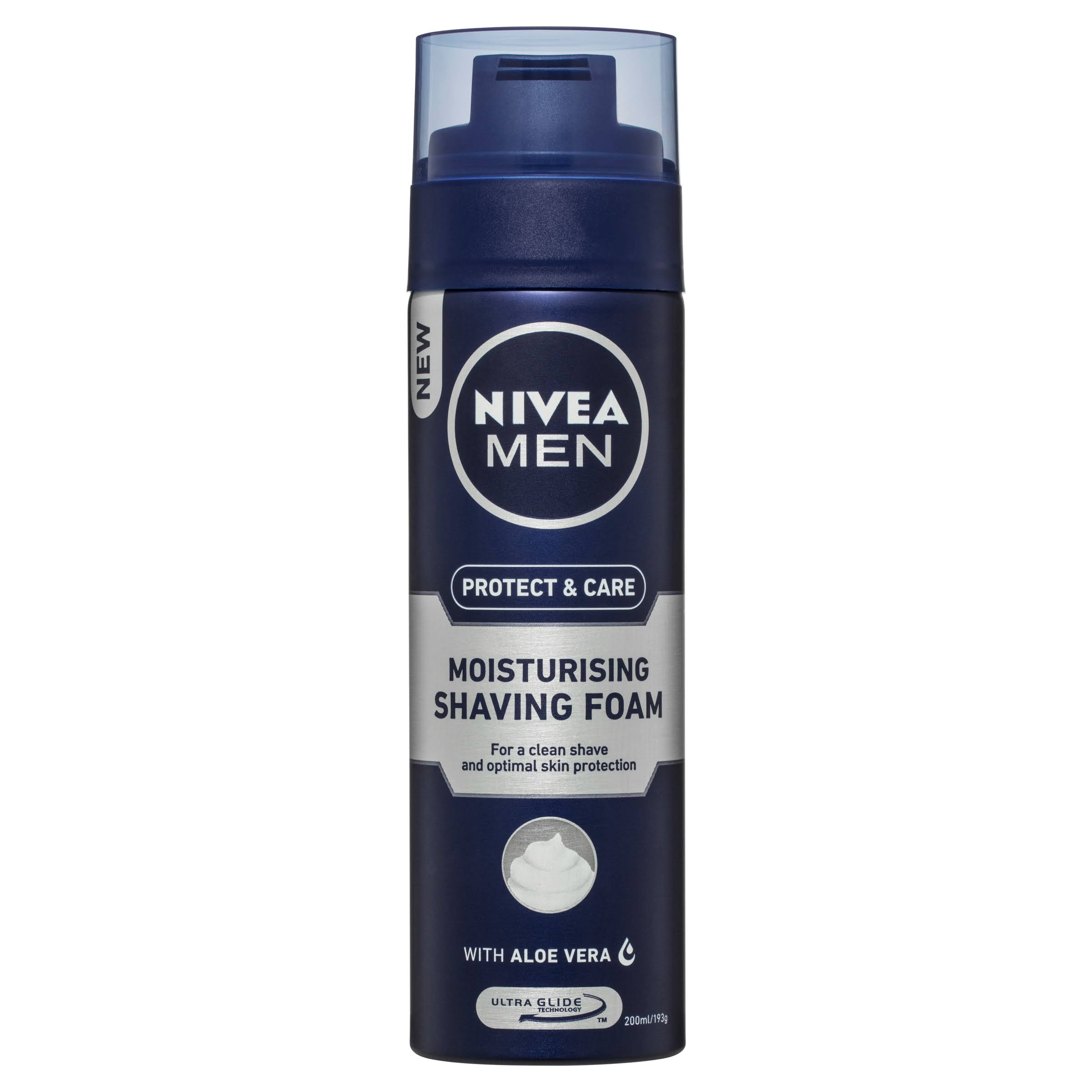 Nivea Men Protect and Care Moisturising Shaving Foam - 200ml