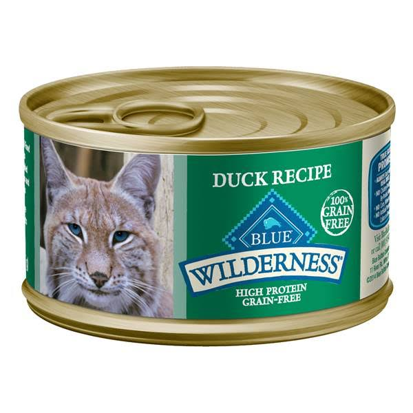 Blue Buffalo Wilderness Adult Cat Food - Duck, 3oz