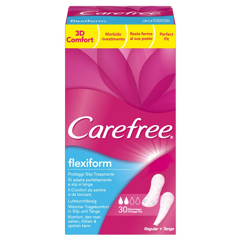Carefree Panty Liners - 30ct