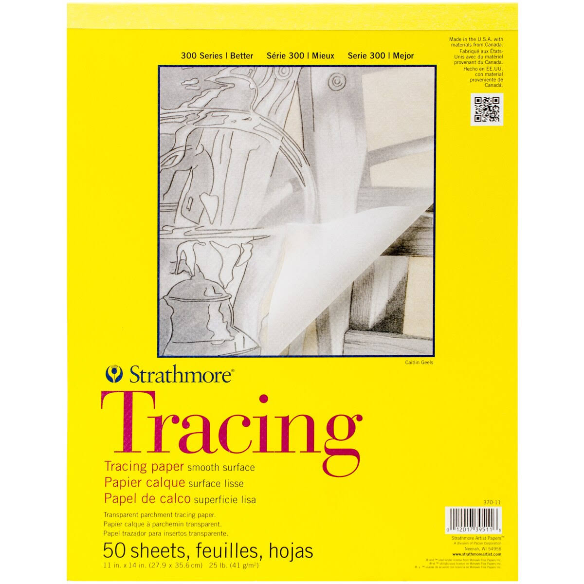 Strathmore Tracing Paper Pad - 50 Sheets