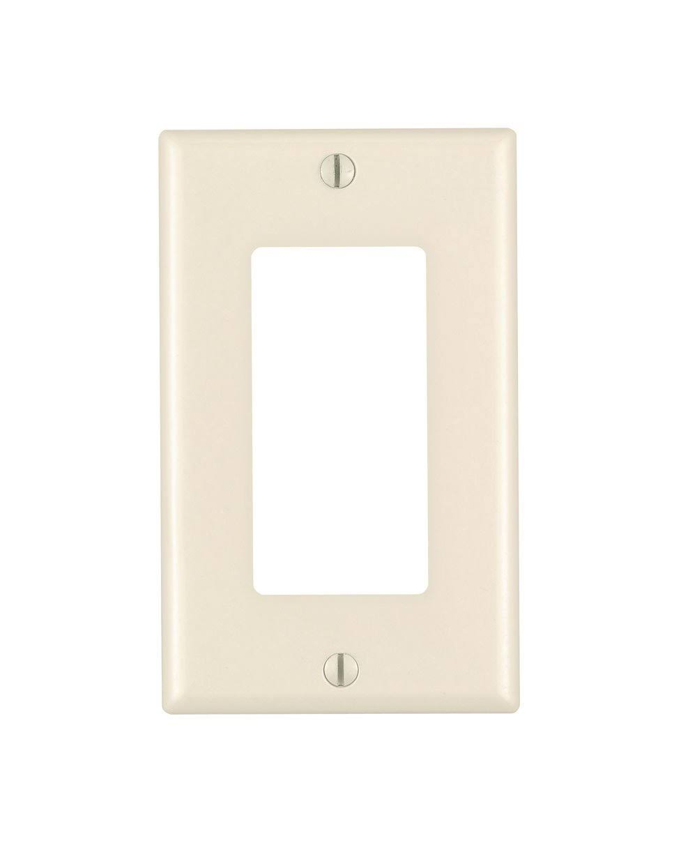 Leviton Wall Plate - Light Almond