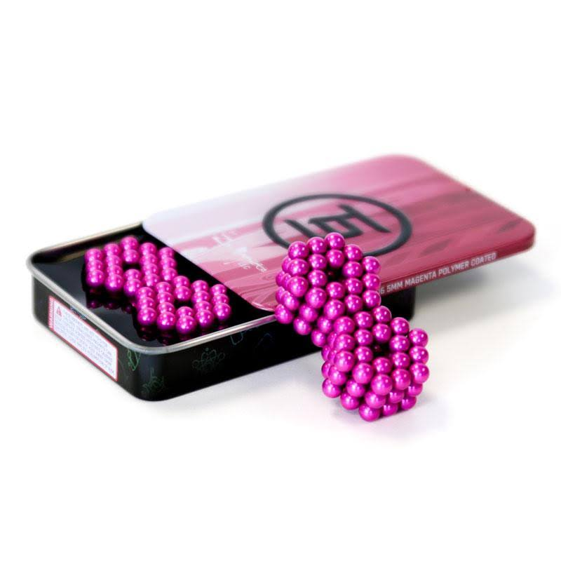 216 Set: Magenta Neoballs 5mm Magnetic Balls 216