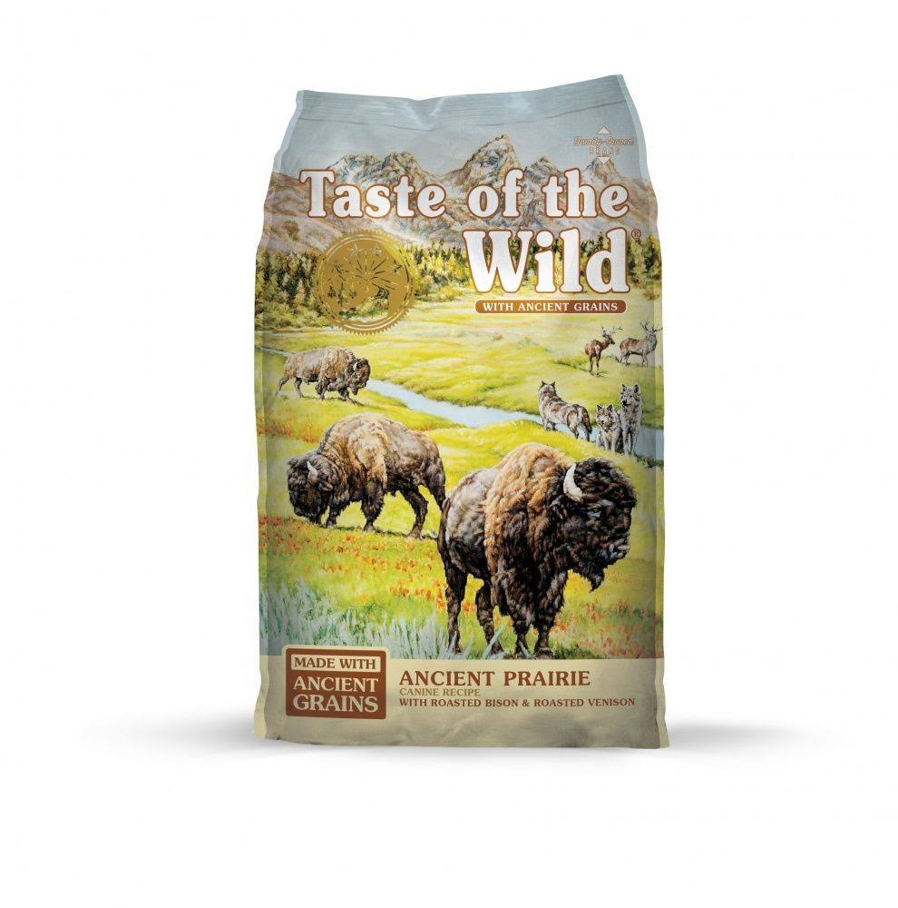 Taste of The Wild Ancient Prairie with Ancient Grains Dry Dog Food - 5 lbs.