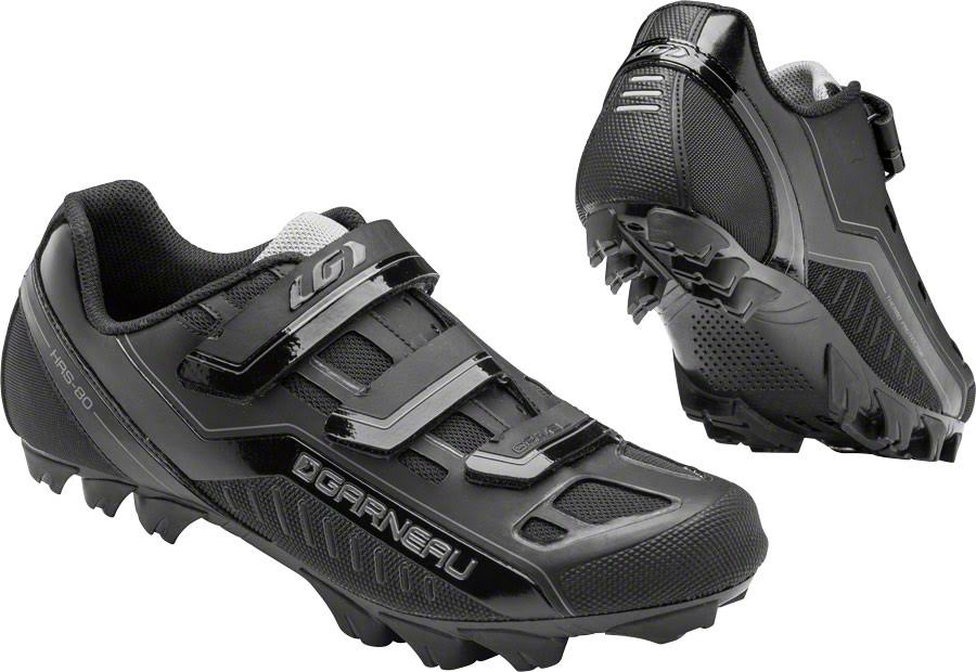 Louis Garneau Men's Gravel Cycling Shoes - Black, 47 EU