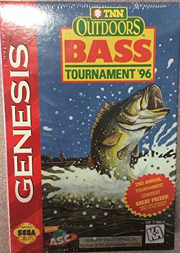 Tnn Outdoors Bass Tournament '96 [Sega Genesis, 1996]