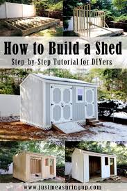 Rubbermaid Large Storage Shed Instructions by How To Build A Storage Shed From Scratch Step By Step Tutorial