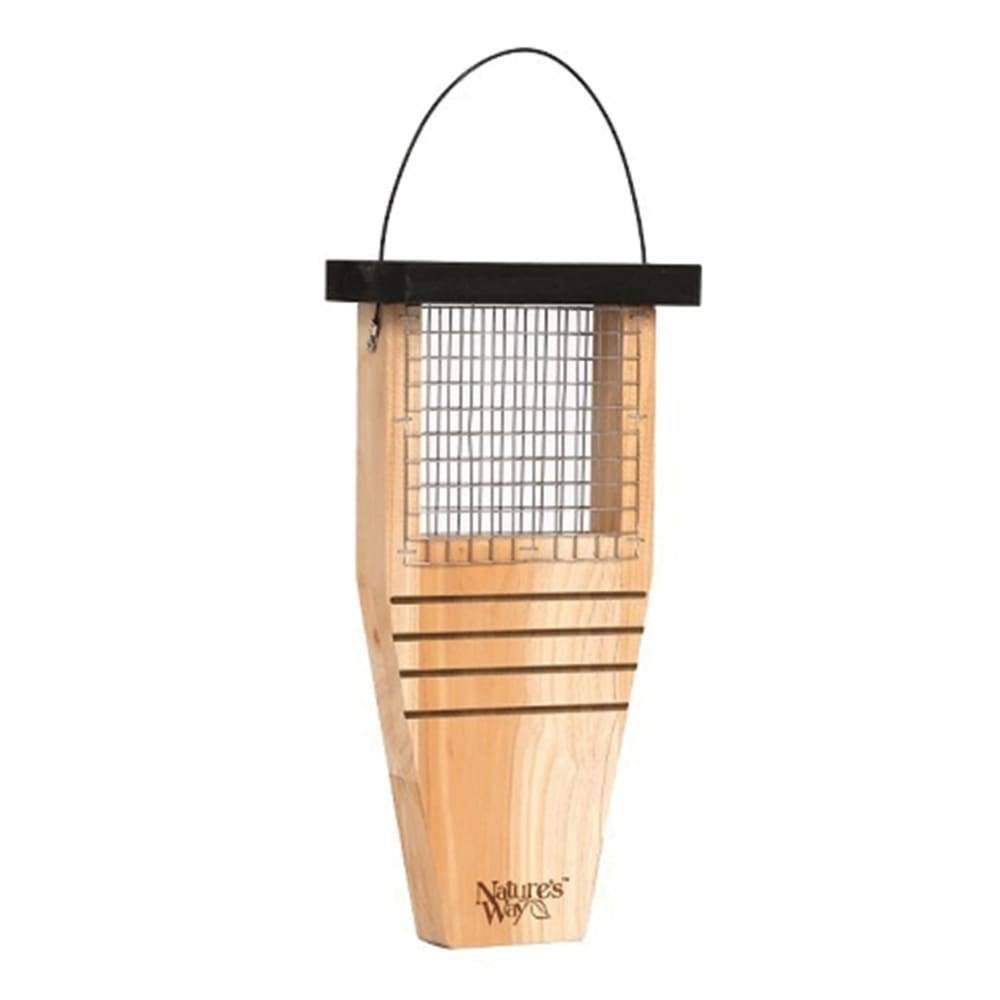 "Nature's Way Bird Products Cedar Suet Cake Feeder - 14"" x 7.875"" x 3"""