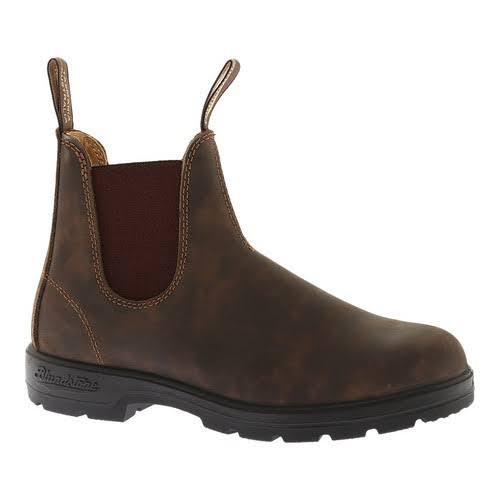 Blundstone Super 550 Series Boots - Rustic Brown, Size 10 US