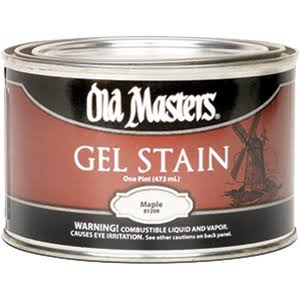 Old Masters Gel Stain - Maple, 1pt