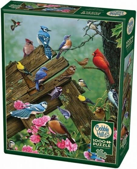 Cobble Hill Birds of The Forest Jigsaw Puzzle (1000 Piece)