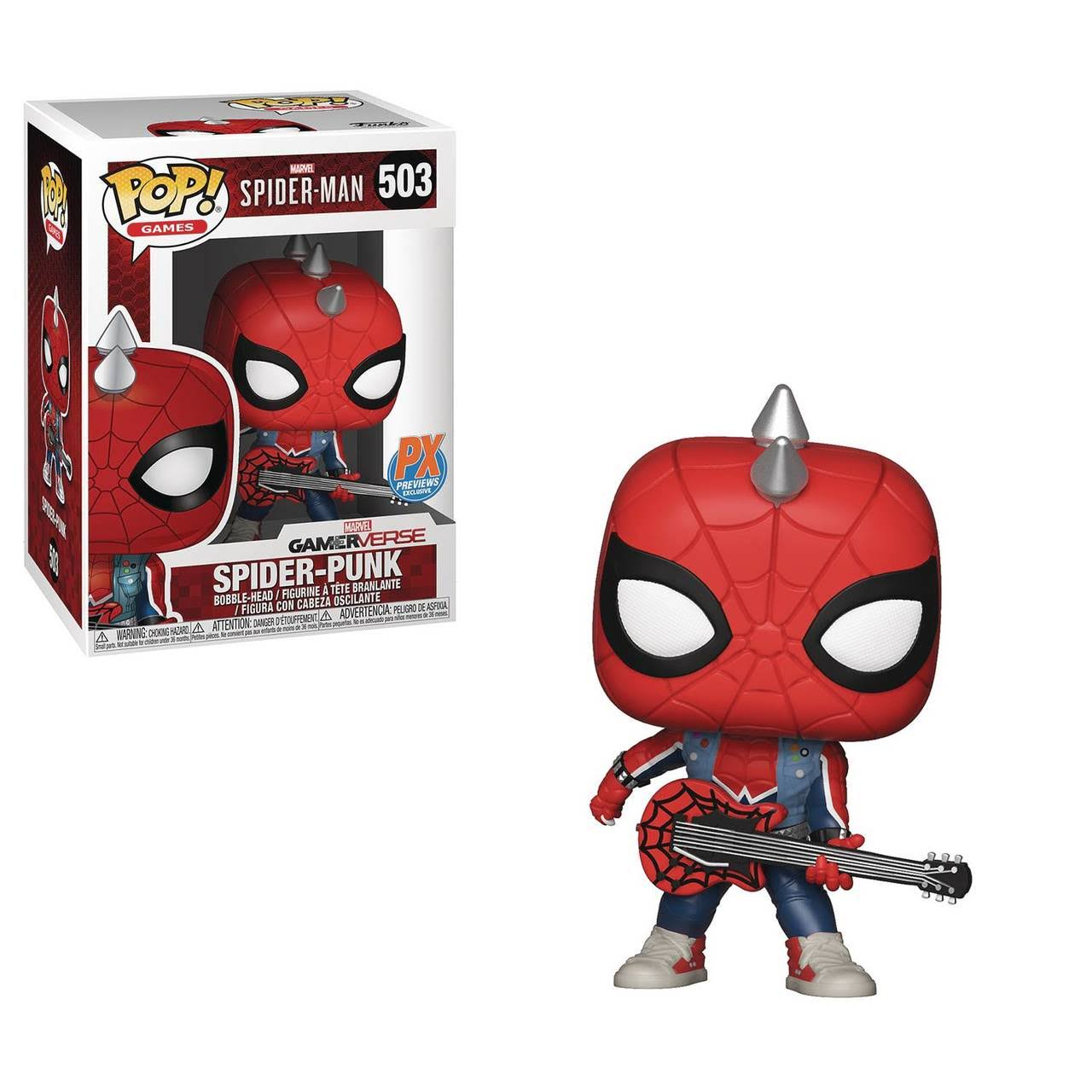 Funko Pop Games Marvel's Spider Man Spider Punk Vinyl Figures