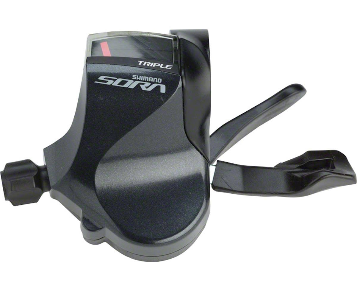 Shimano Sora R3030 Triple Left Flat Bar Road Shifter - 9 Speed