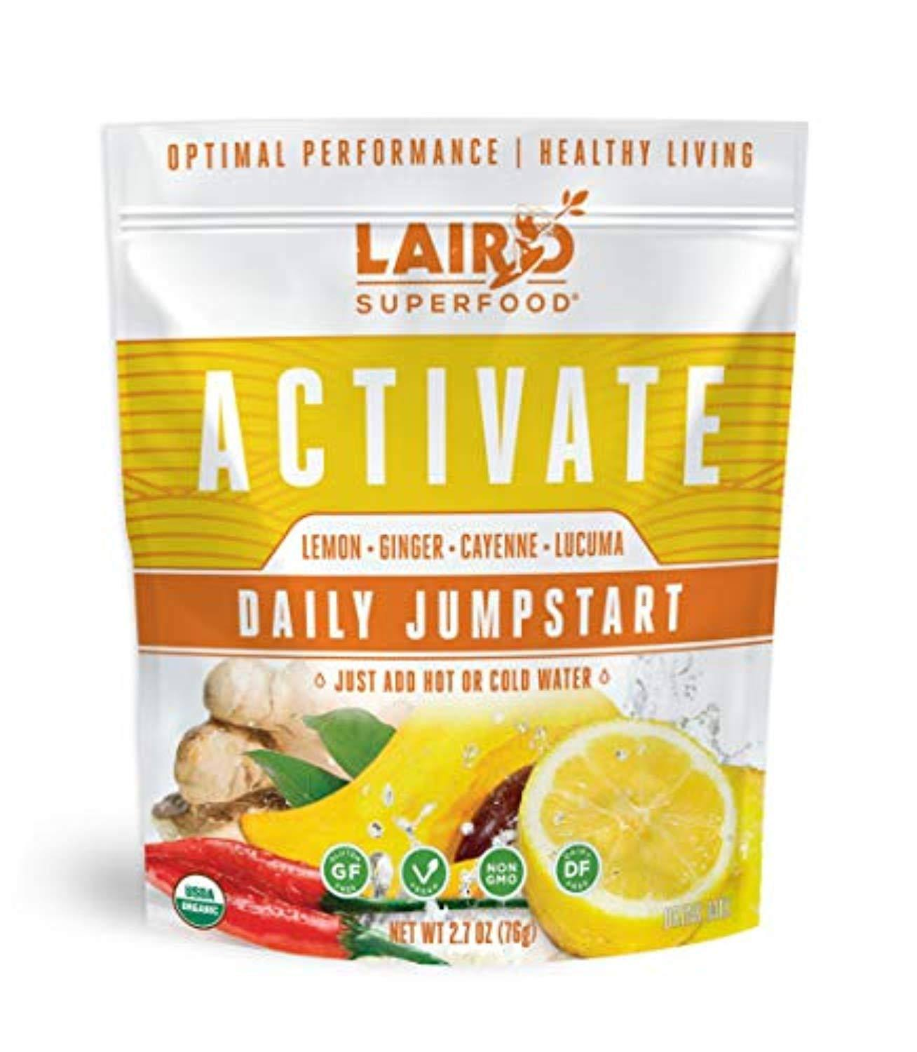 Laird Superfood Organic Activate Daily Jumpstart 2.7oz