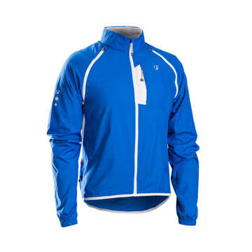 Bontrager Race Convertible Windshell Jacket - Bonty Blue - Medium