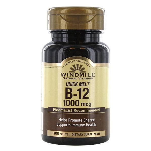 Windmill - Vitamin B-12 1000 mcg Sublingual - 100 Tablets