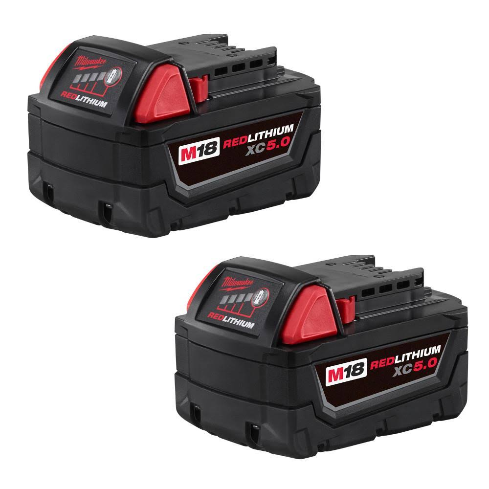 Milwaukee M18 18-Volt Lithium-Ion XC Extended Capacity Battery Pack