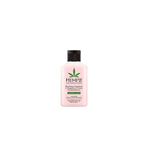 Hempz Herbal Body Mini Moisturizer - Blushing Grapefruit and Raspberry Creme, 2.25oz
