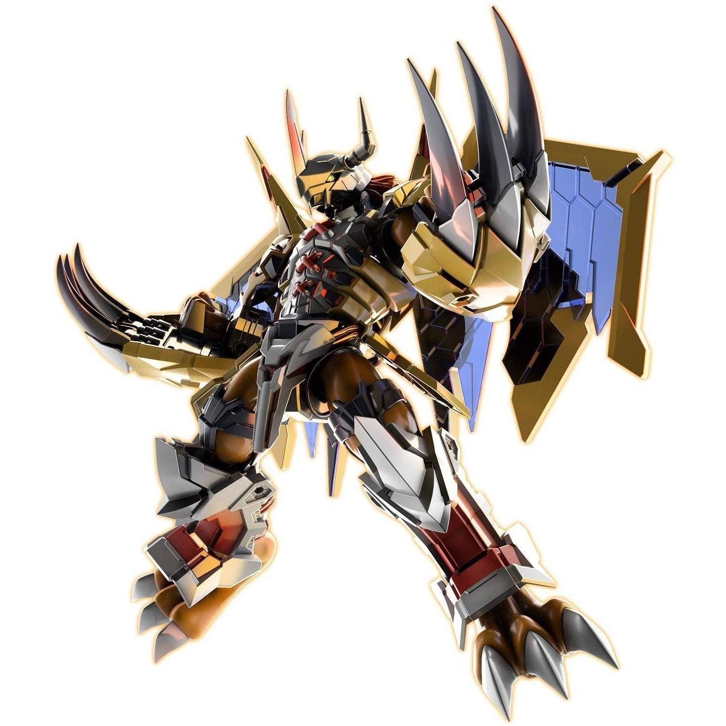 Bandai Spirits Digimon Wargreymon Amplified Figure Rise Standard Model Kit