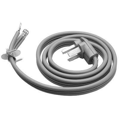 Master Electrician SRDT Flat Dryer Cord - 6ft, Gray