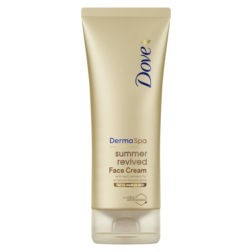 Dove DermaSpa Summer Revived Face Cream Medium to Dark 75ml