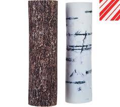 Bethlehem Lights Christmas Trees Qvc by Tree Hugger Set Of 2 Reversible Adjustable Tree Pole Covers Page