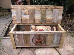 Build Outdoor Storage Bench by Best 25 Large Garden Storage Box Ideas On Pinterest Wooden