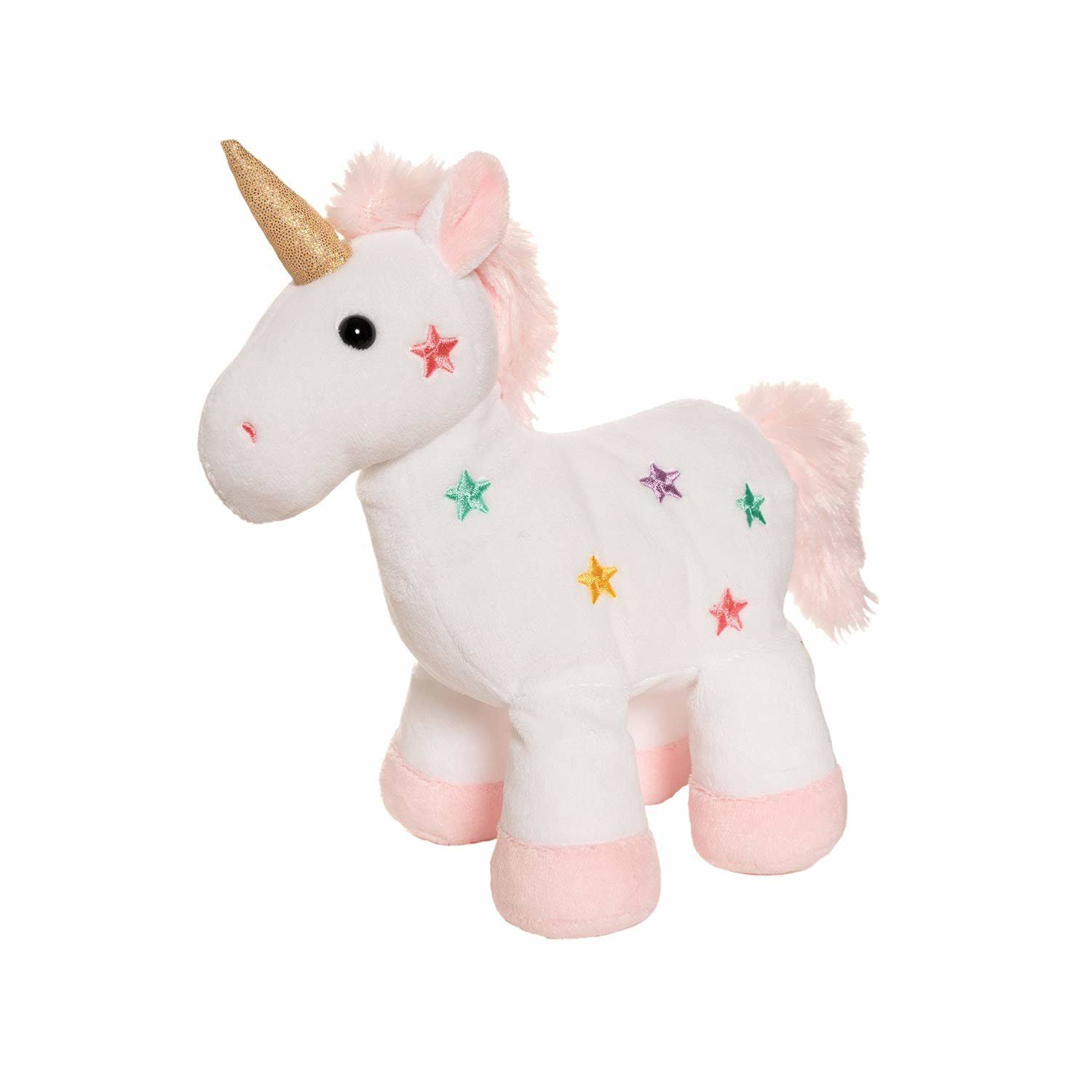 "Manhattan Toy Mon AMI Twinkle 10"" Unicorn Stuffed Animal"