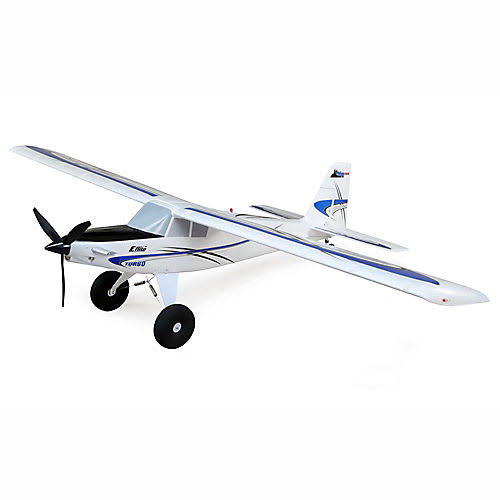 E-flite Turbo Timber 1.5m BNF Basic with AS3X and Safe Select, Includes Floats, EFL15250