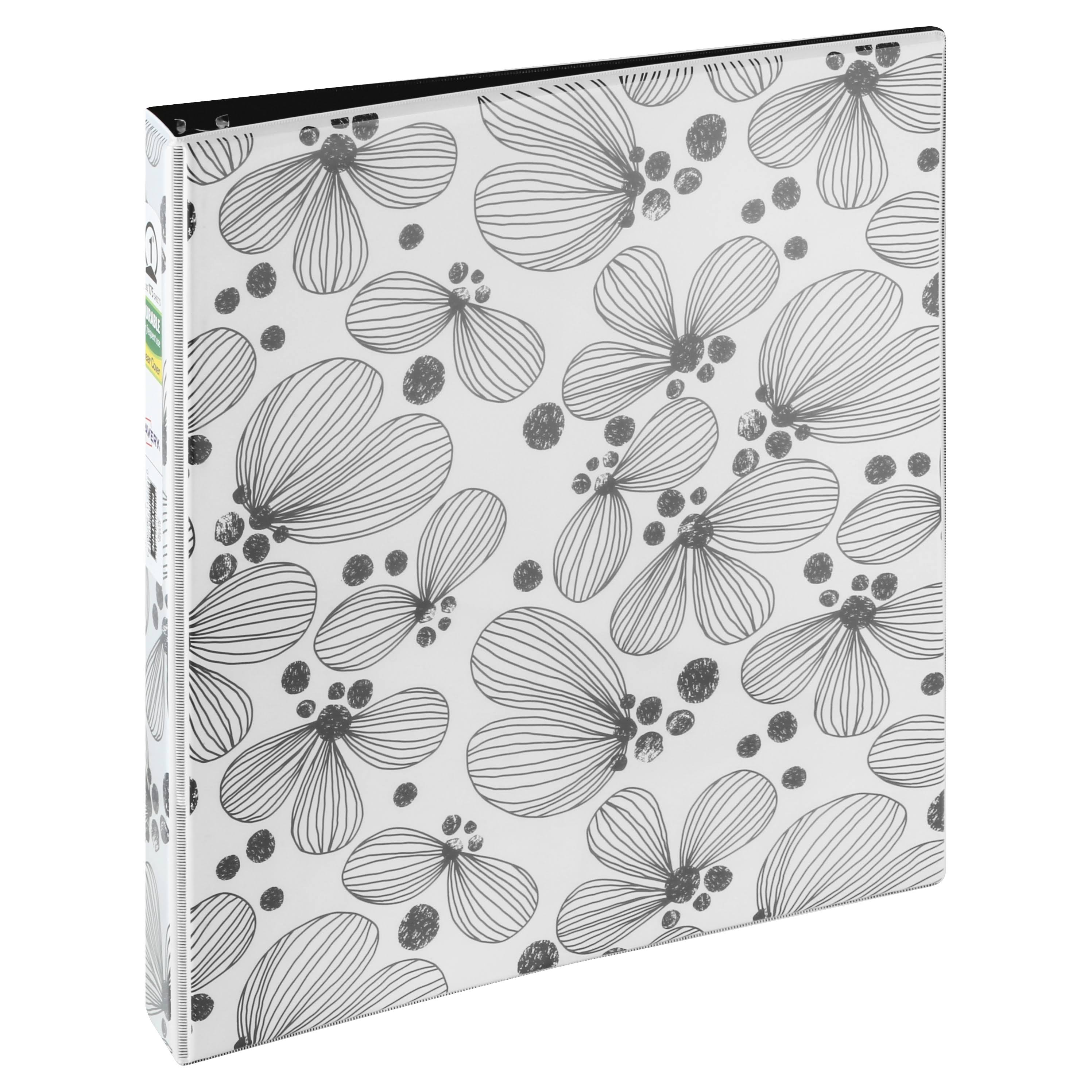 Avery Fashion View Binder - Assorted Styles, 1""
