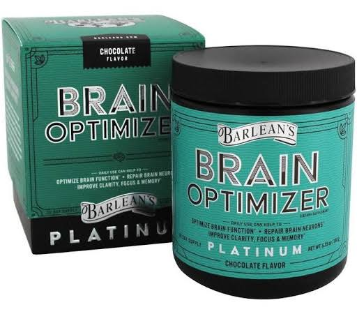 Barlean's Brain Optimizer Dietary Supplement - Chocolate Flavor, 6.35oz
