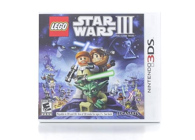 Lego Star Wars III: The Clone Wars - Nintendo 3DS