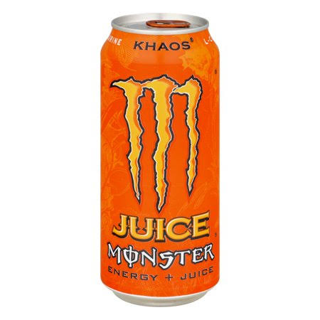 Monster Juice Energy Drink, Khaos - 16 fl oz