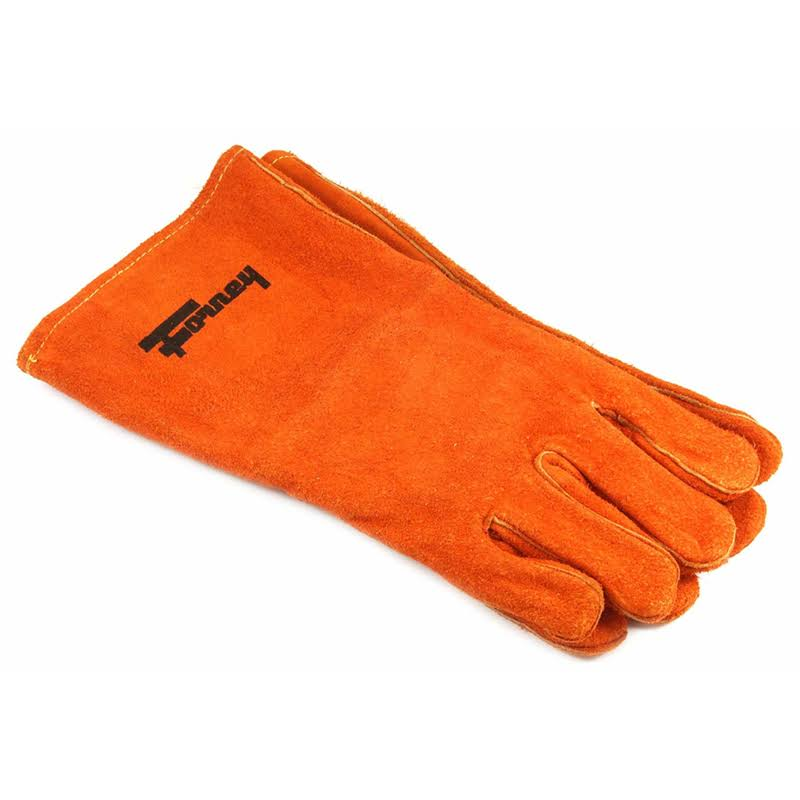Forney 55206 Welding Gloves - Brown, Large