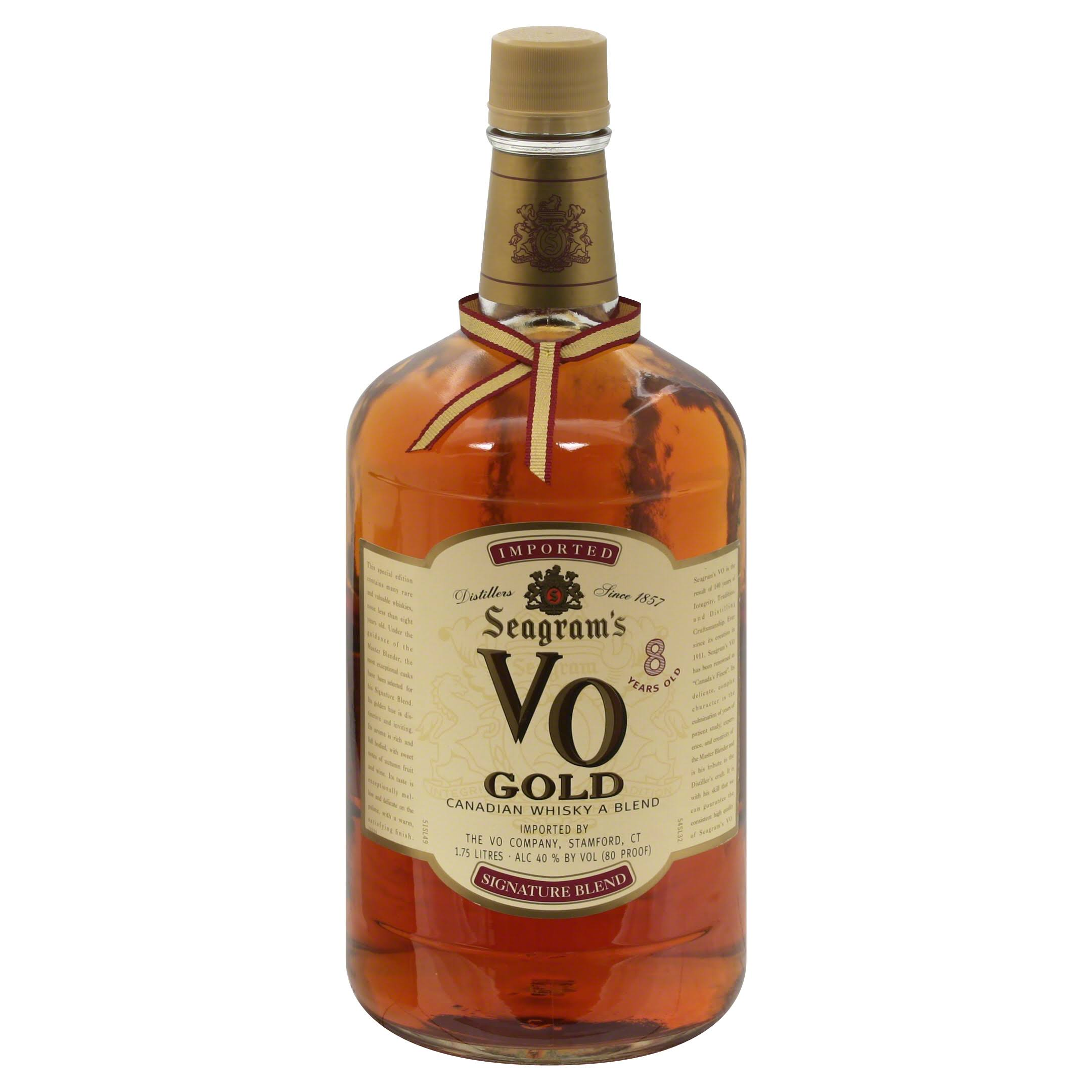 Seagram's Vo Gold Whisky A Blend