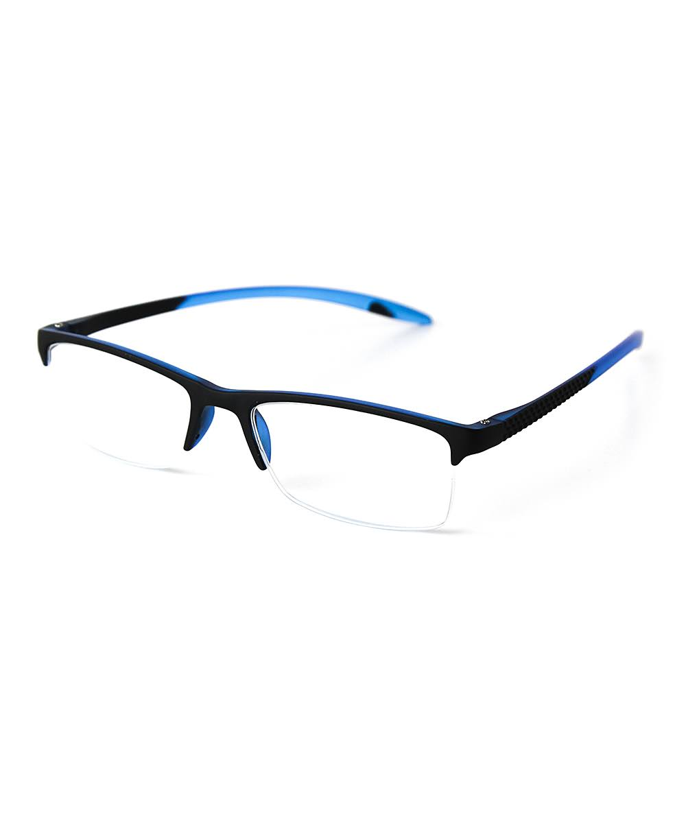 Optimum Womens Blue & Black Reading Glasses
