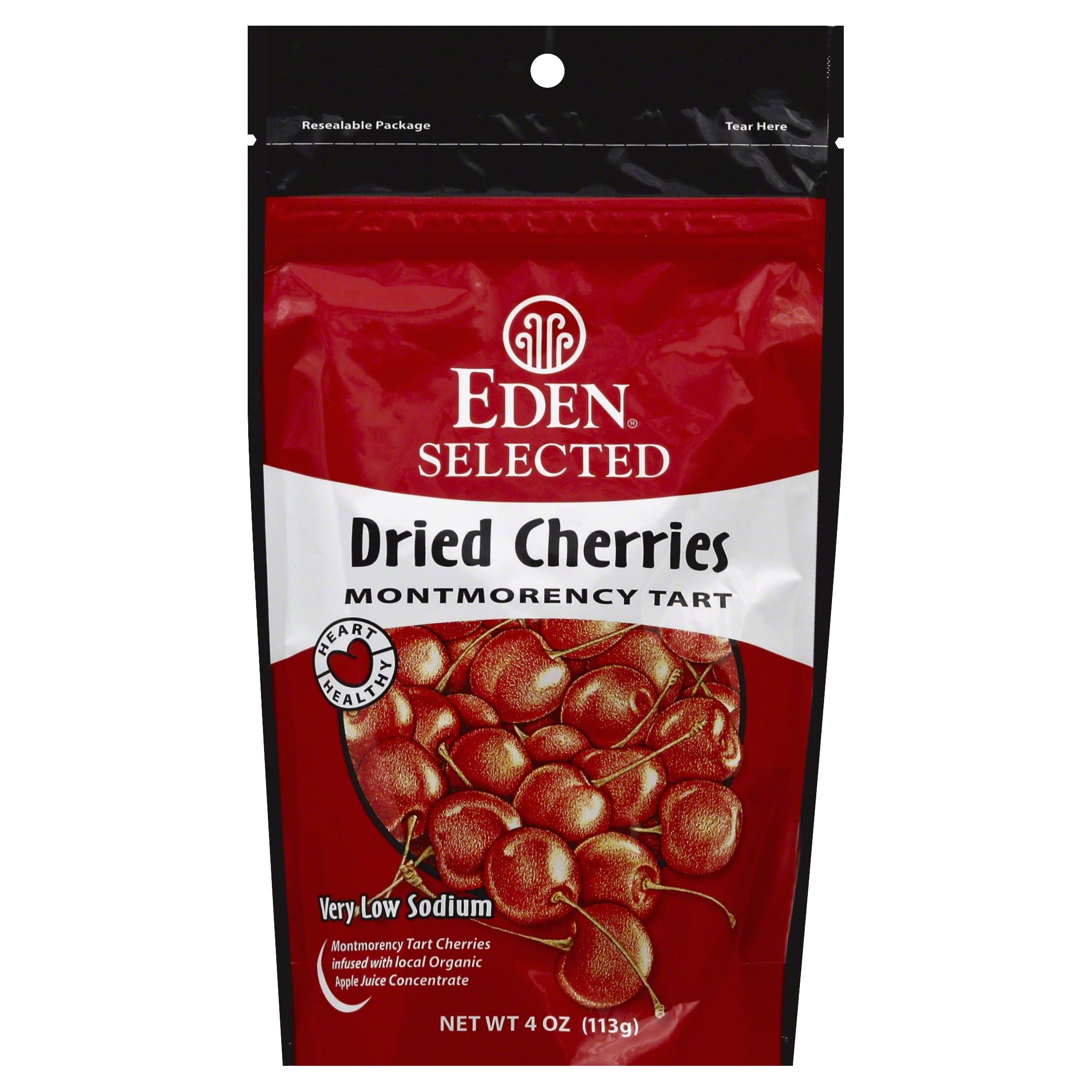 Eden Selected Dried Cherries - Montmorency Tart, 4oz