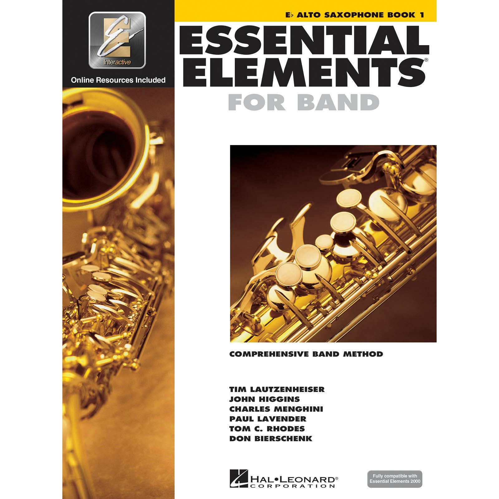 Essential Elements 2000: Alto Saxophone Book 1 - Tom C. Rhodes