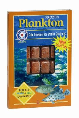 San Francisco Bay Frozen Plankton Cube