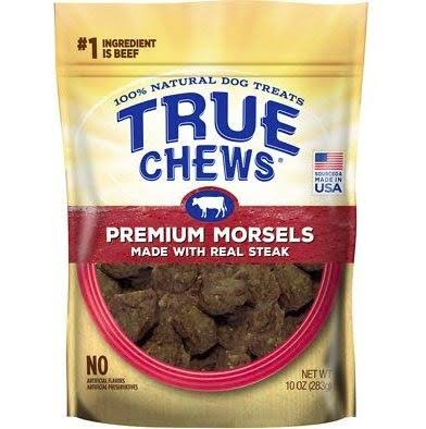 True Chews Premium Morsels Steak 10oz