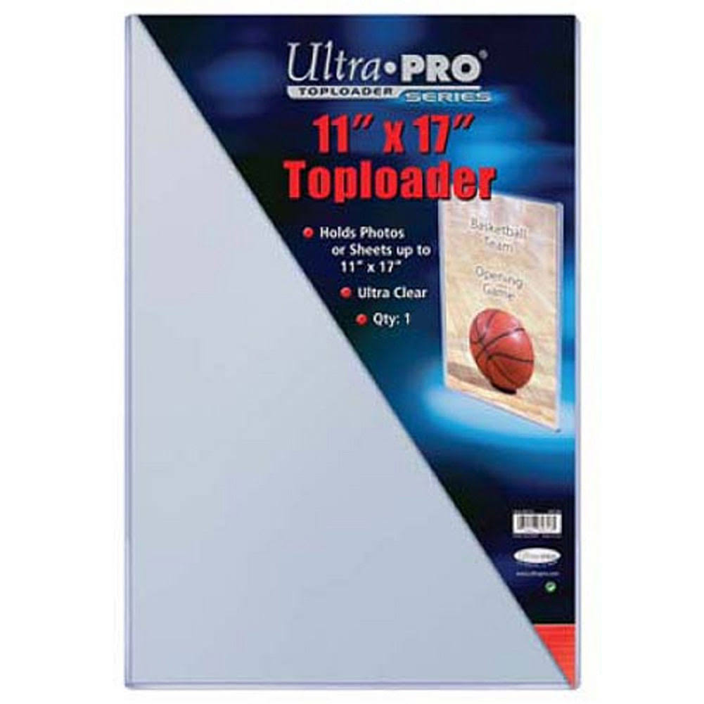 "Ultra Pro Toploaders - 11"" x 17"", 10 Pack"