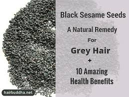 Pumpkin Seed Oil Capsules Hair by Black Sesame Seeds A Natural Remedy For Grey Hair 10 Amazing