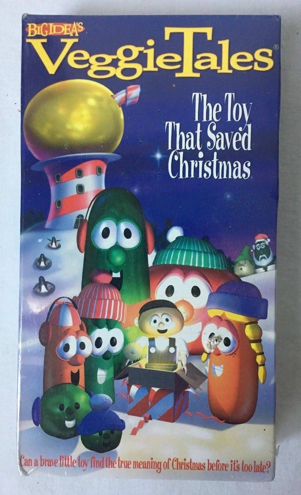 VeggieTales: The Toy That Saved Christmas VHS