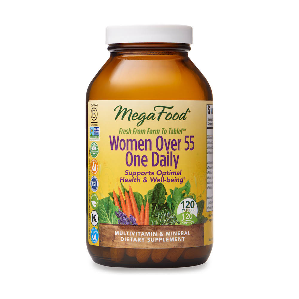 MegaFood - Women Over 55 One Daily - 120 Tablets