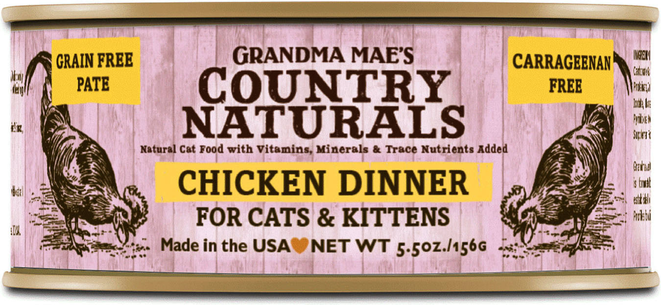 Grandma Maes Country Naturals Cat Food - Chicken Dinner