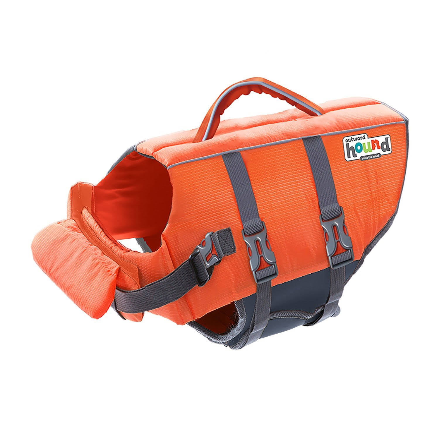 Outward Hound Pupsaver Ripstop Life Jacket - Orange, Small